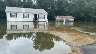 Evangeline Parish Flooding