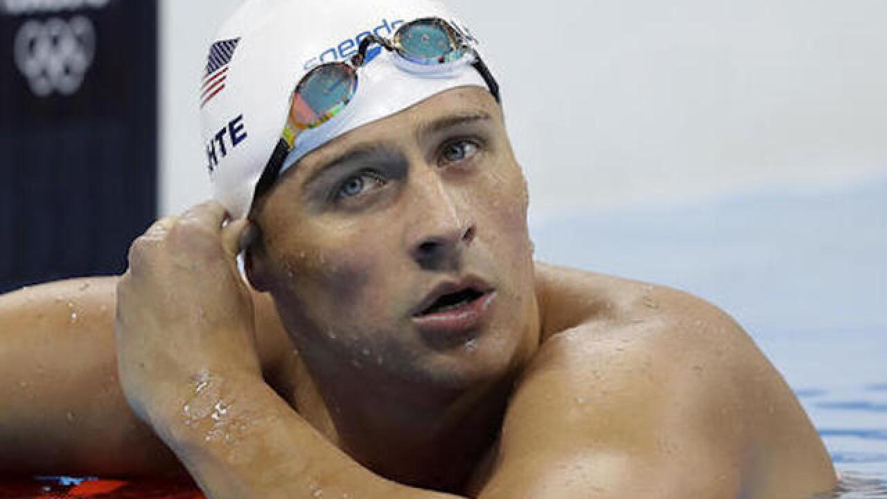 Swimmer Ryan Lochte suspended until July 2019 for use of IV