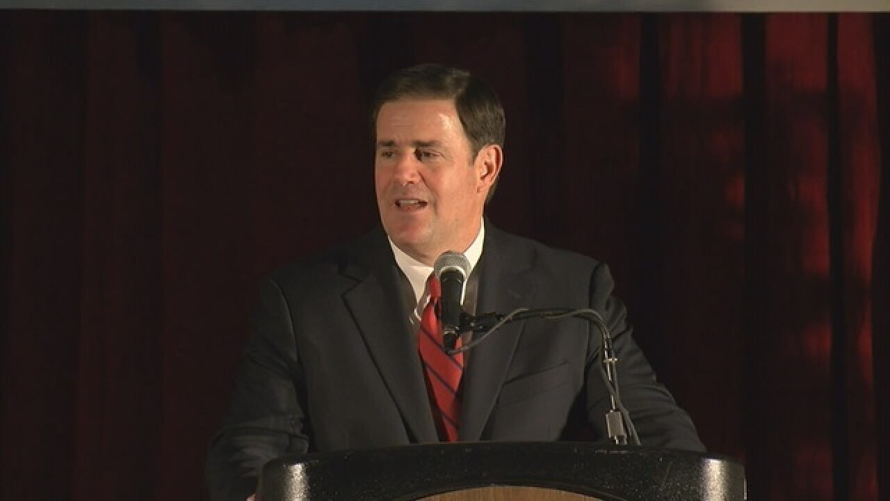 Gov. Ducey signs bill to buck clean energy plan