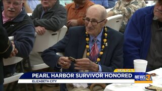 Local Army veteran and Pearl Harbor survivor honored for service at the age of99