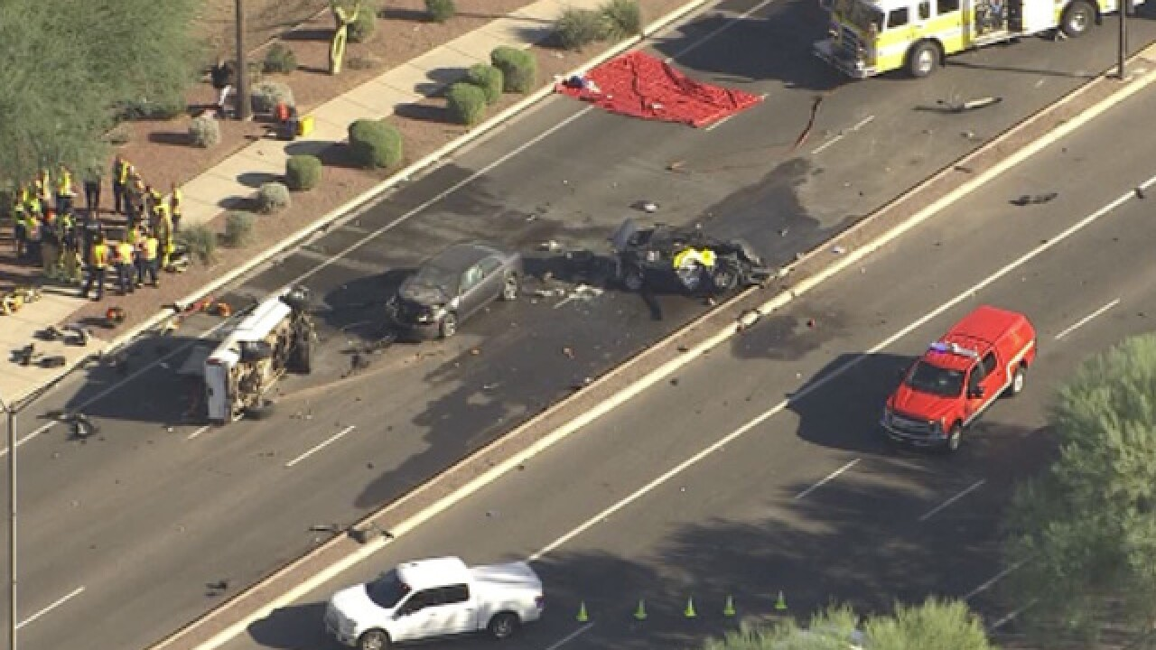 PD: 1 dead, 3 hurt in Avondale crash