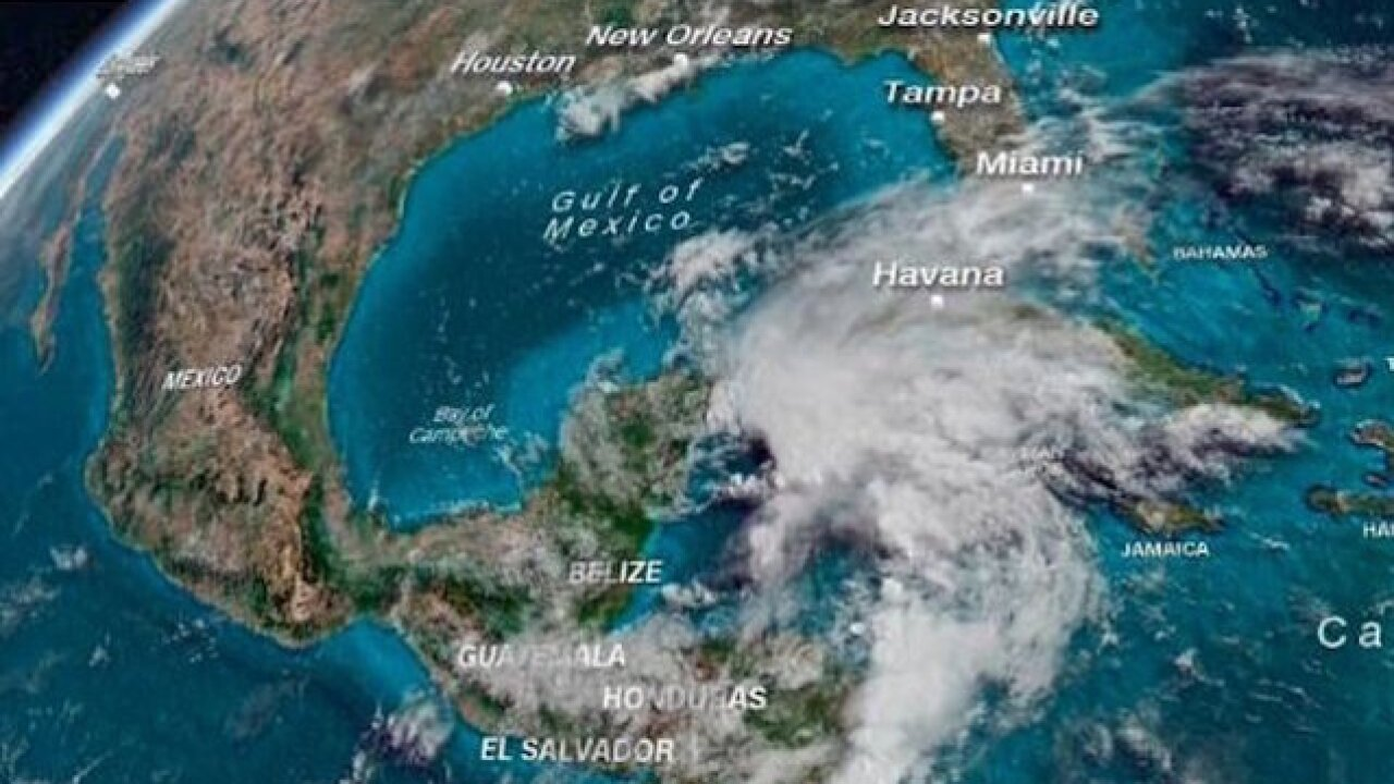 Subtropical Storm Alberto eyes Gulf Coast for Memorial Day weekend