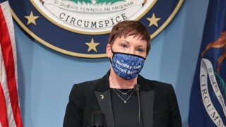 Virus Outbreak Michigan Health Director