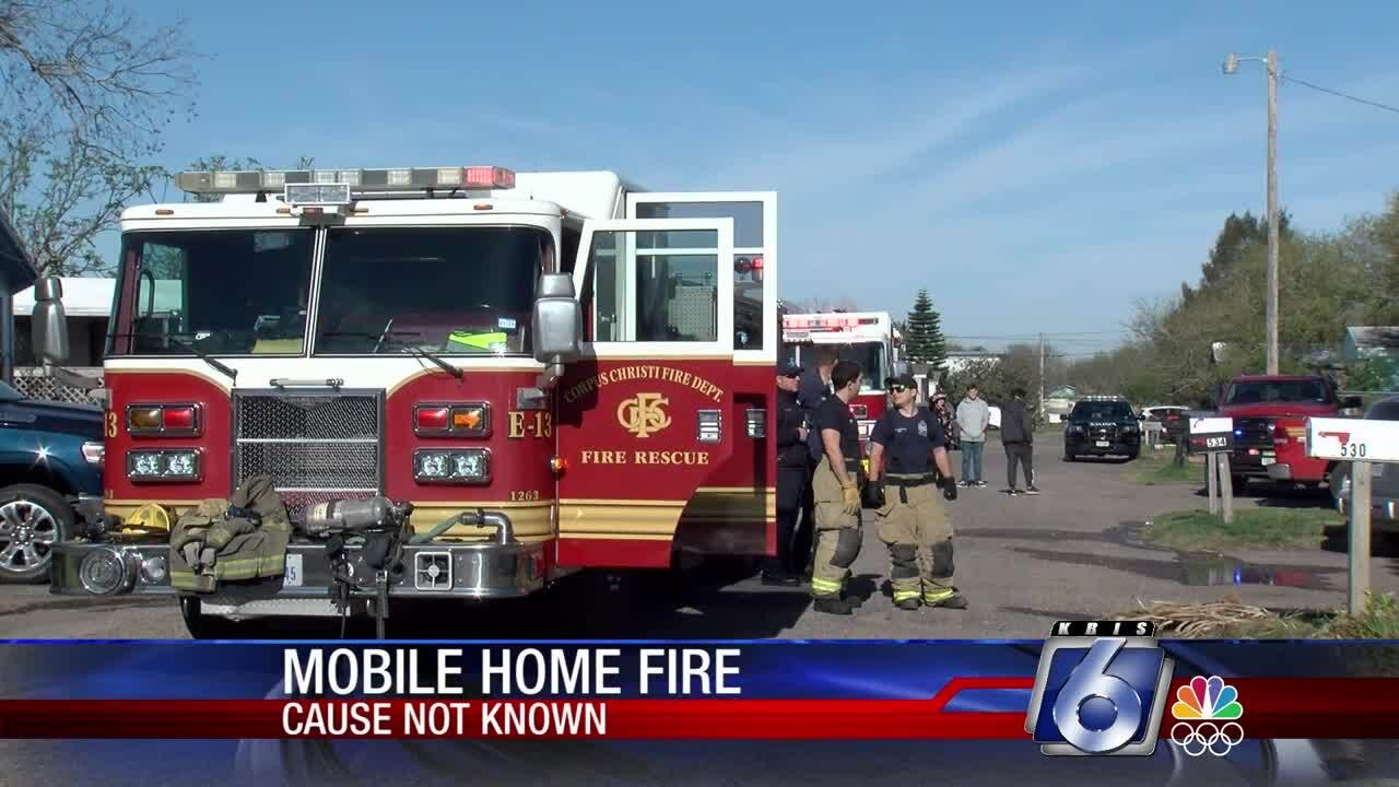 Corpus Christi Fire Department responds to a Friday fire
