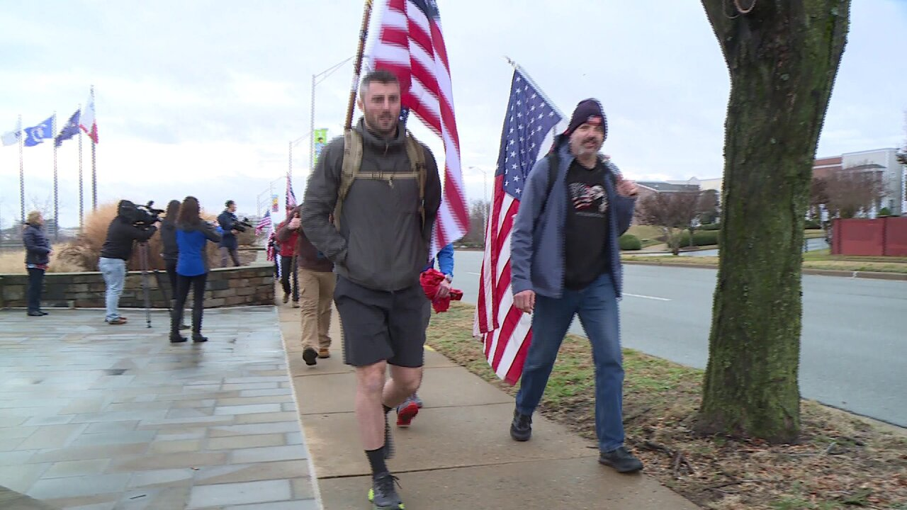 🇺🇸Freedom Ruck from Richmond is 105-mile trek to honor service men and women
