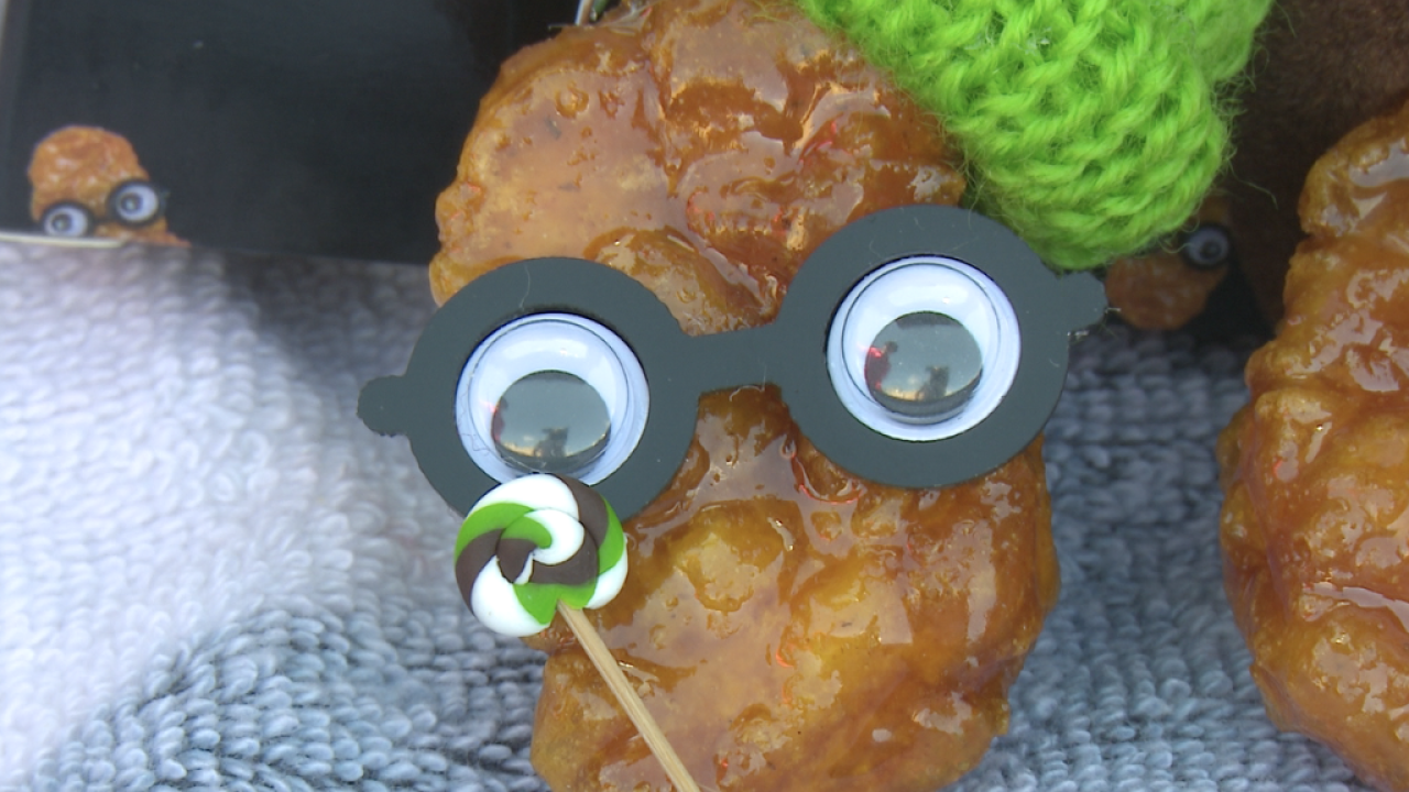 Preserved Chicken Nugget from Nuggy Buddy