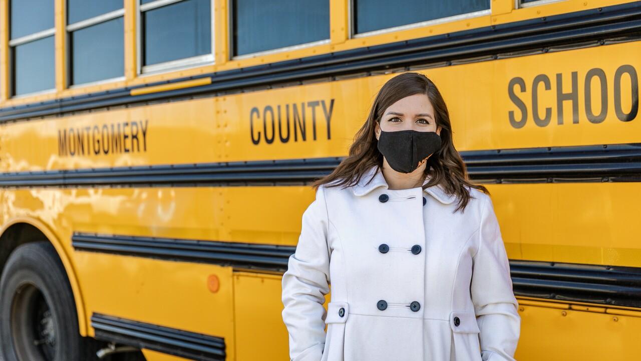 Principal Emily Clark of Norman Smith Elementary School