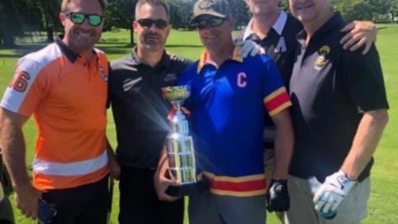 Hockey dad with Michigan ties creates 'Toe Drag' apparel