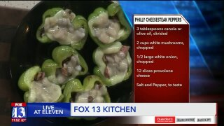 Philly Cheesesteak StuffedPeppers