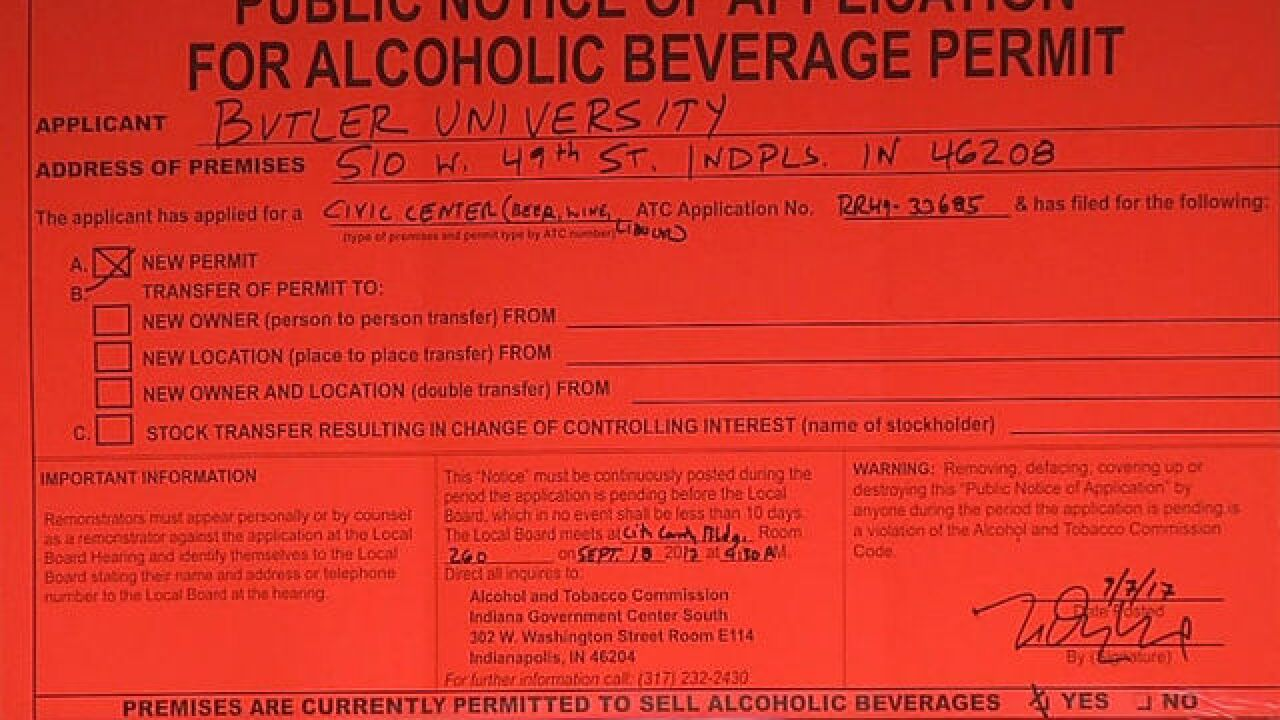 Selling beer at Hinkle Fieldhouse? It's possible