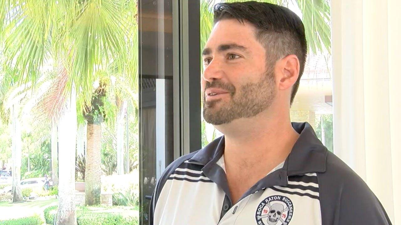 Eyal Hakim, head coach of Team USA women's Rugby team for Maccabiah games