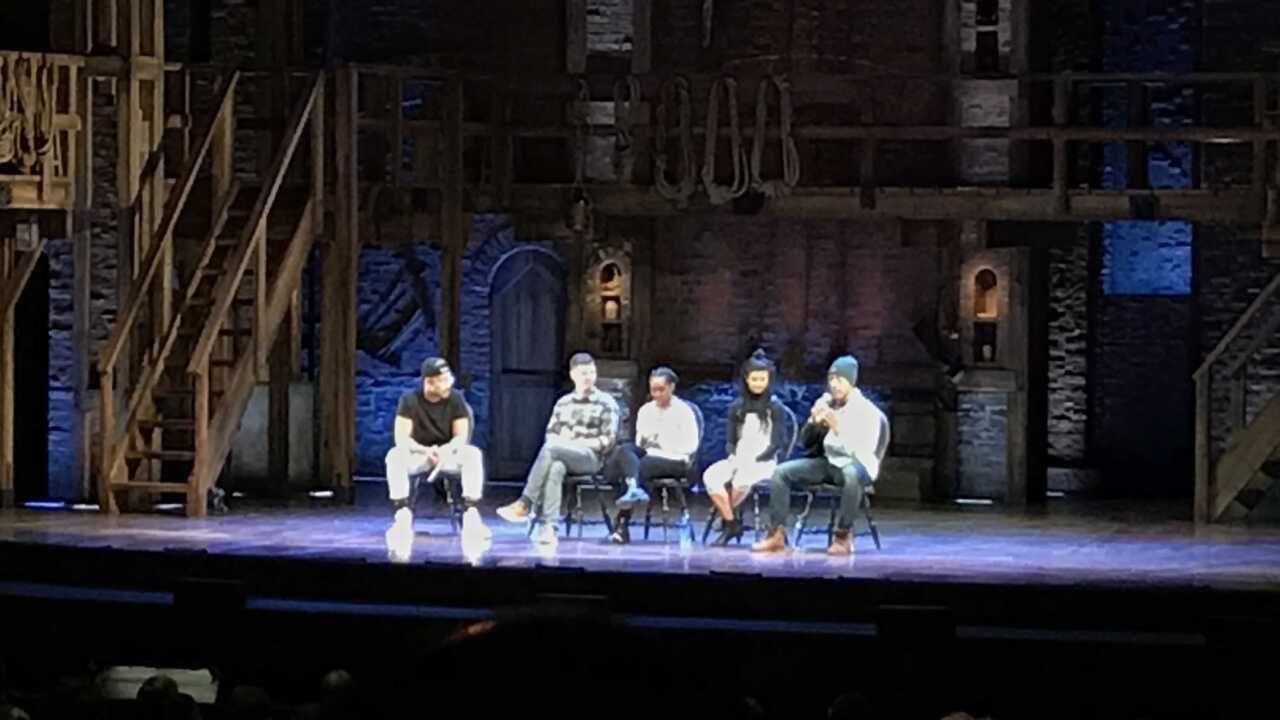Local students bring education, talent to 'Hamilton' stage
