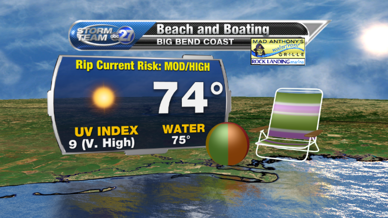 Beach and Boating forecast B (04/06/2017)