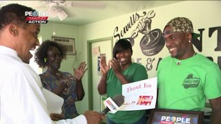 People Taking Action: Norfolk business donates hundreds of back to school supplies tostudents