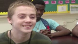 High School Football Players Stepped In To Help A Freshman Who'd Been Bullied For His Clothes