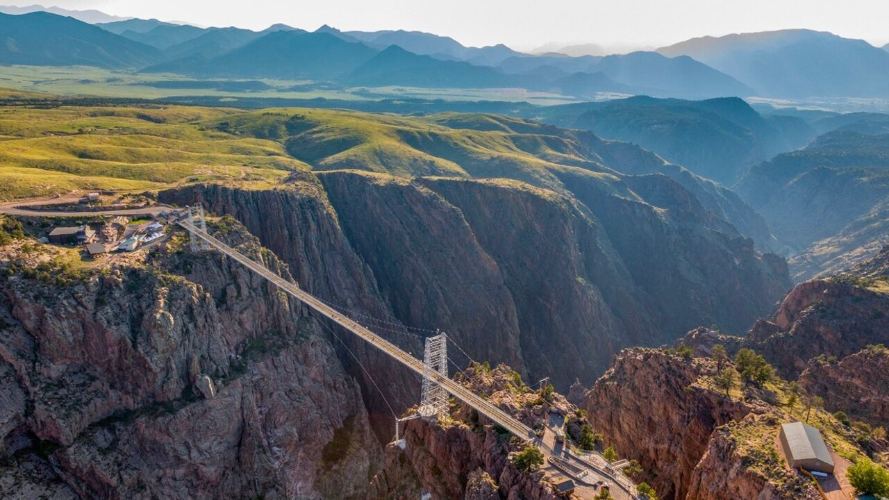 Royal Gorge Bridge Arial View