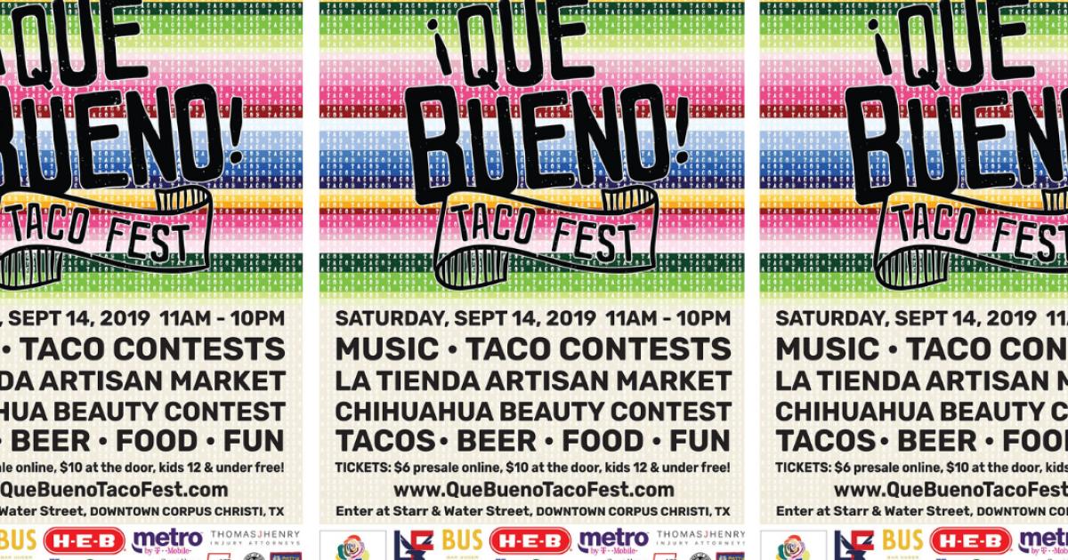 Que Bueno Taco Fest supports The Historic Ritz Theatre