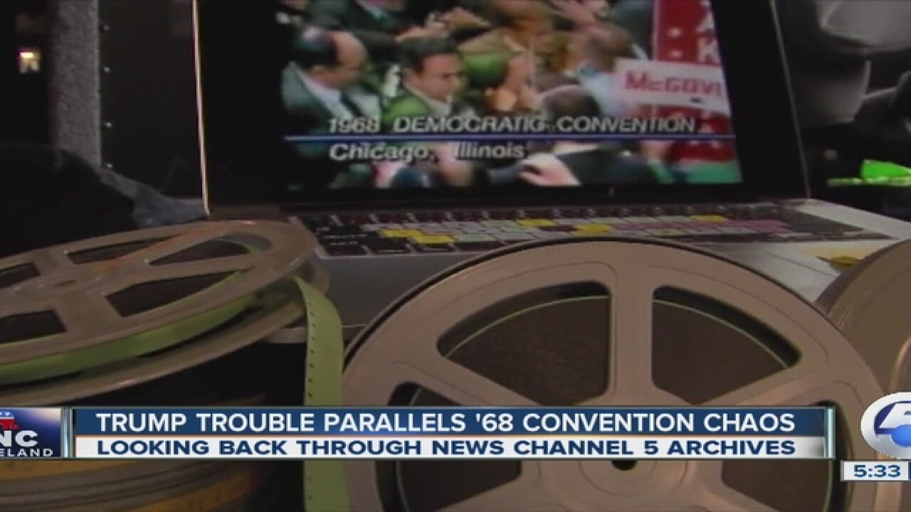 Trump trouble could mirror past convention chaos