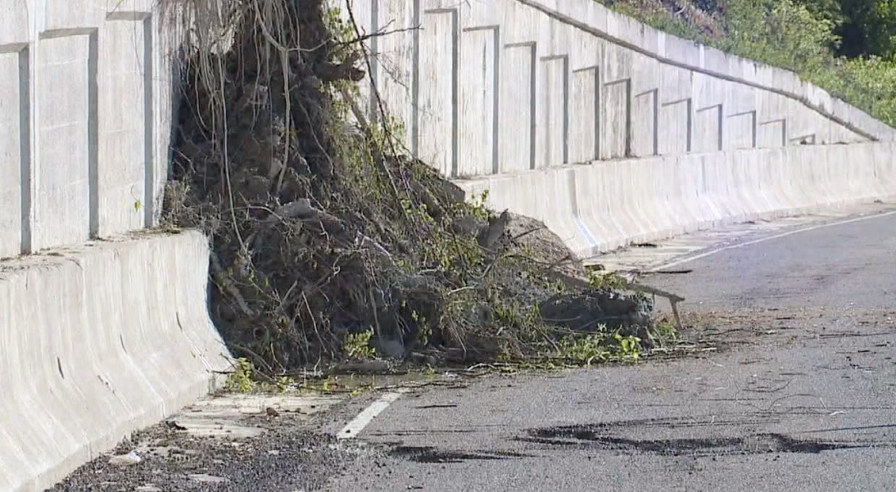 Landslides occurred on Columbia Parkway multiple times shutting down the roadway in 2019.
