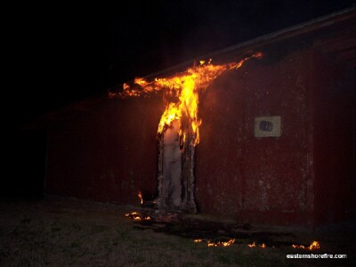 Photos: Another arson reported on the Eastern Shore