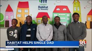 Habitat For Humanity Helps Single, Refugee Father