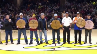 Cleveland Cavaliers first responders night