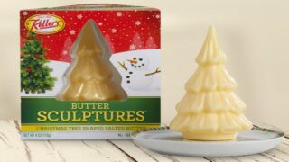 You Can Now Buy Christmas Tree Butter Sculptures For Your Holiday Table