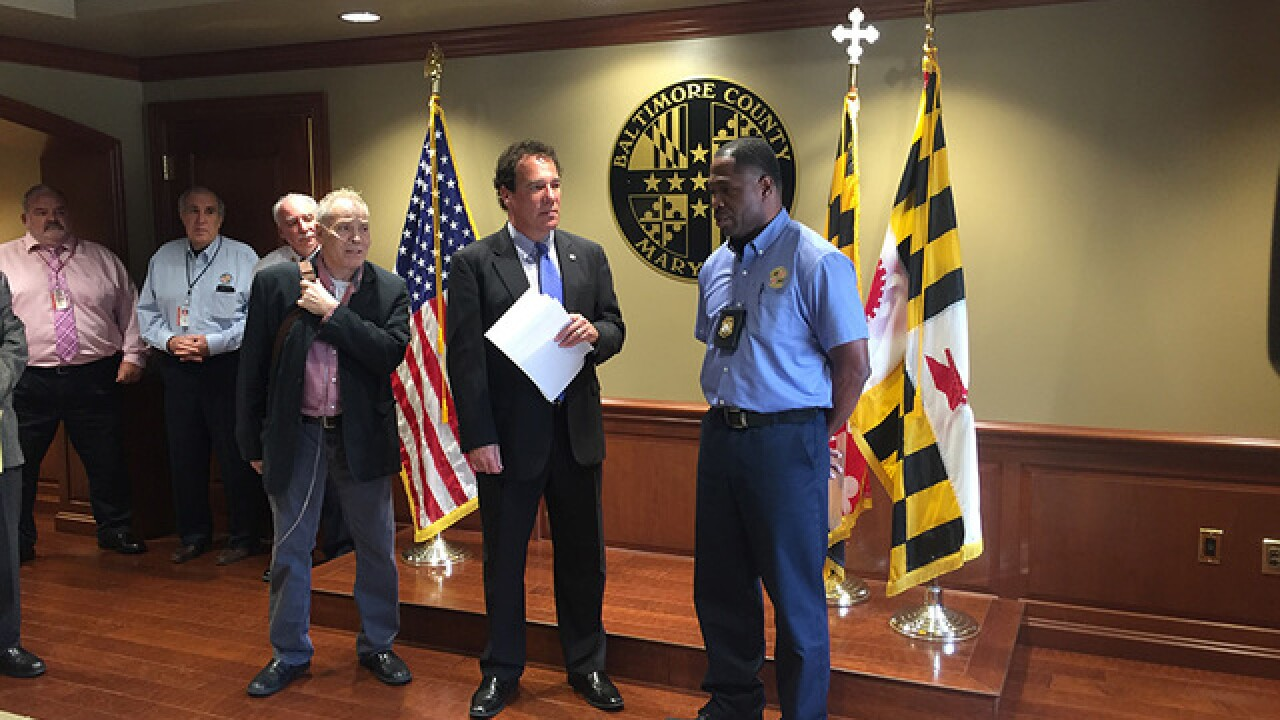 Housing inspect gives man CPR, saves life