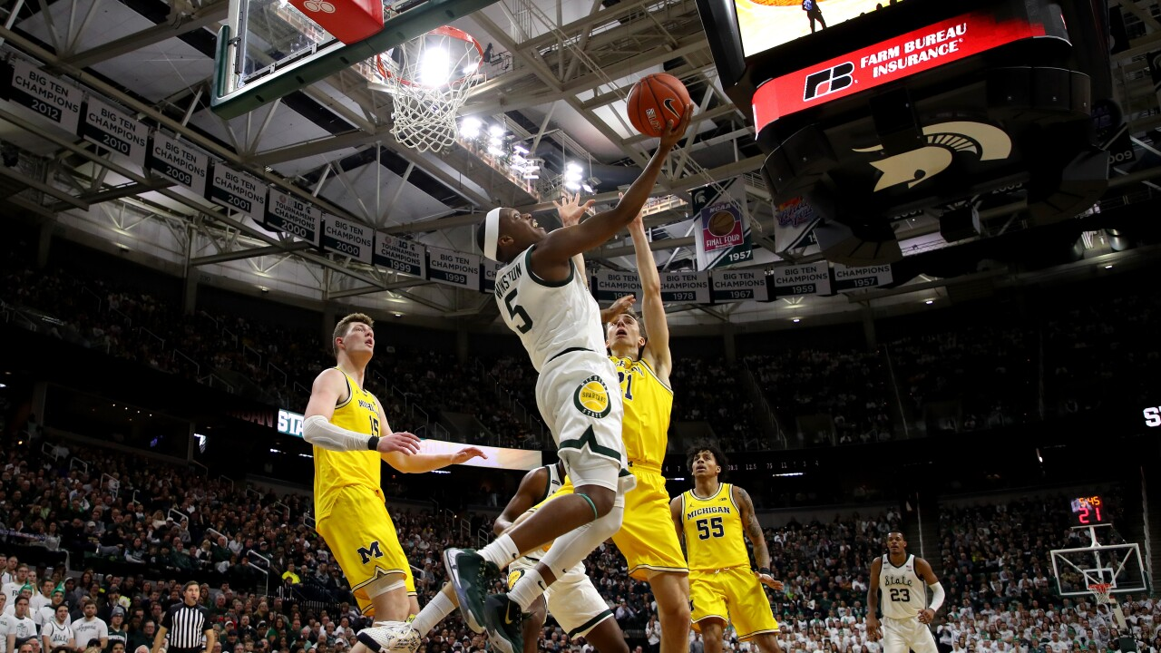 Cassius_Winston_Michigan v Michigan State
