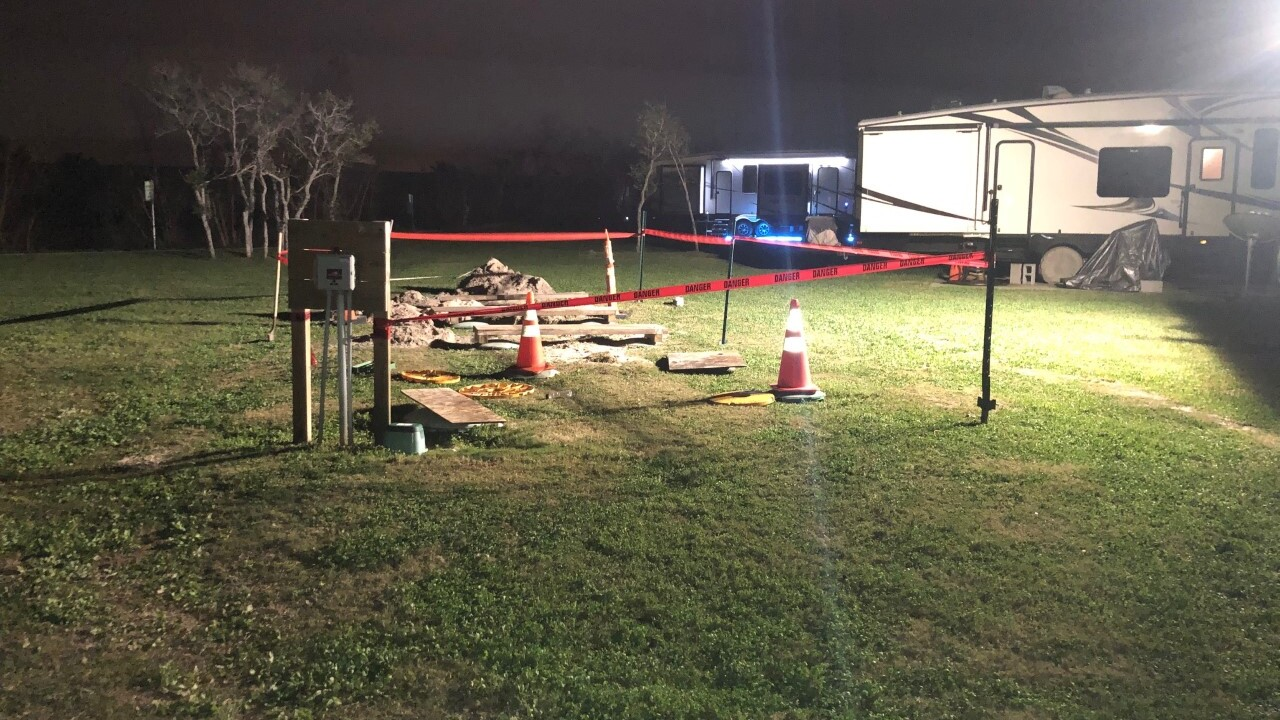 Two-year-old girl dies after falling into septic tank at area RV park in Texas
