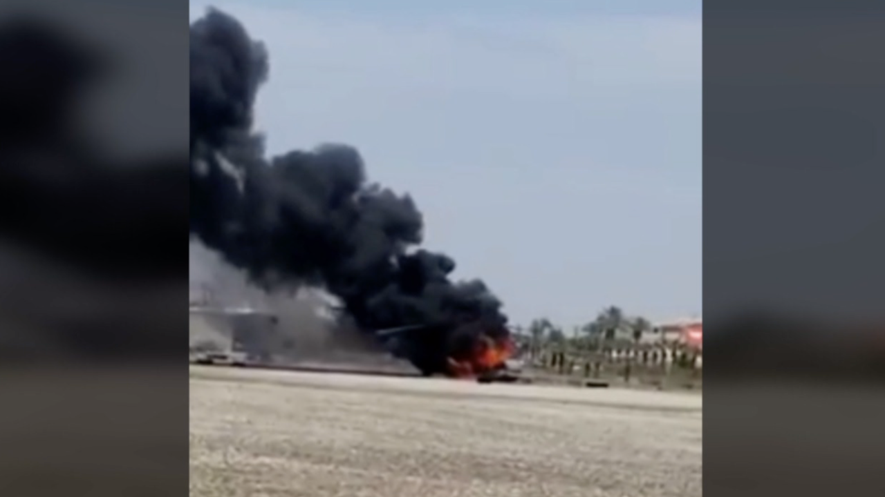 miramar helicopter fire imperial