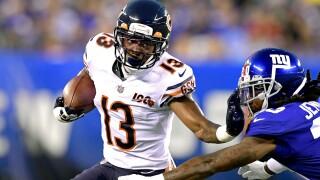Marvin_Hall_Chicago Bears v New York Giants