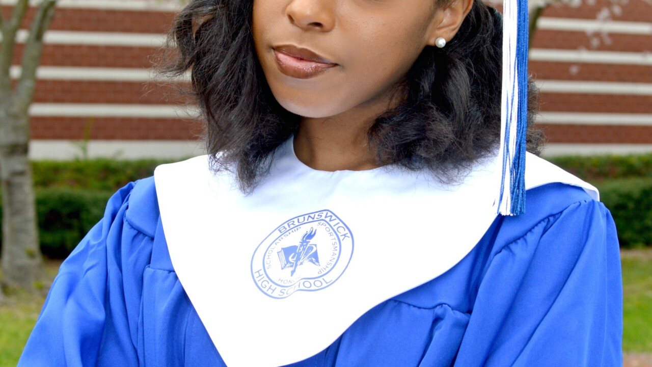 Jamea D. Walker a 2020 graduate of Brunswick High School in Lawrenceville, VA. Jamea is an honor roll student and has participated in JROTC, Cheerleading, FBLA.JPG