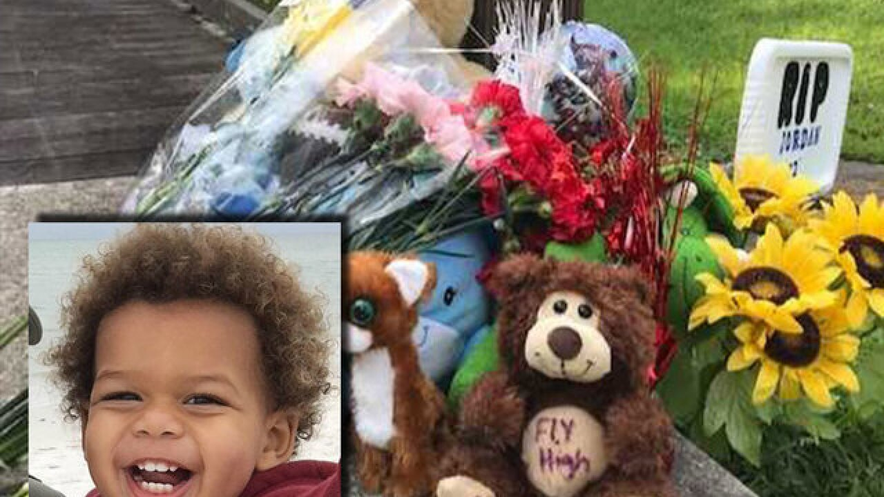Memorial grows for 2-year-old murdered in Largo