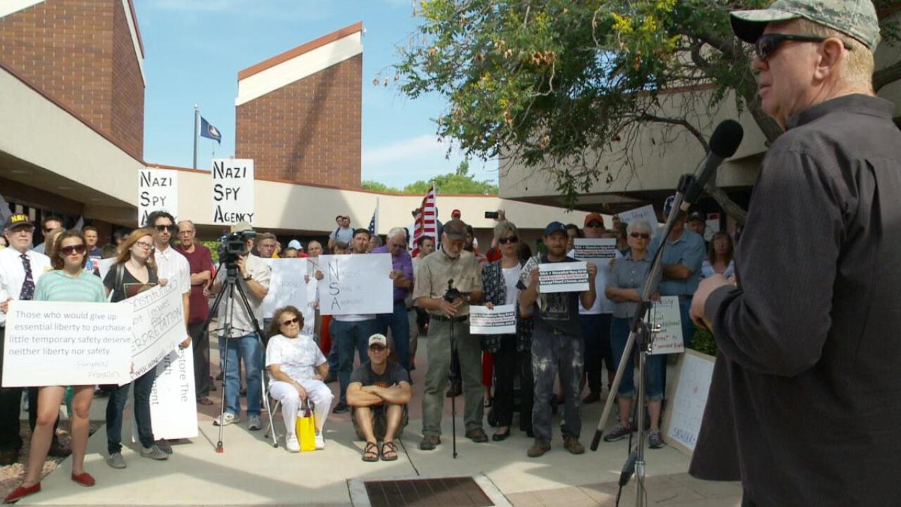 Protest calls for 'curse' on Utah's NSA facility