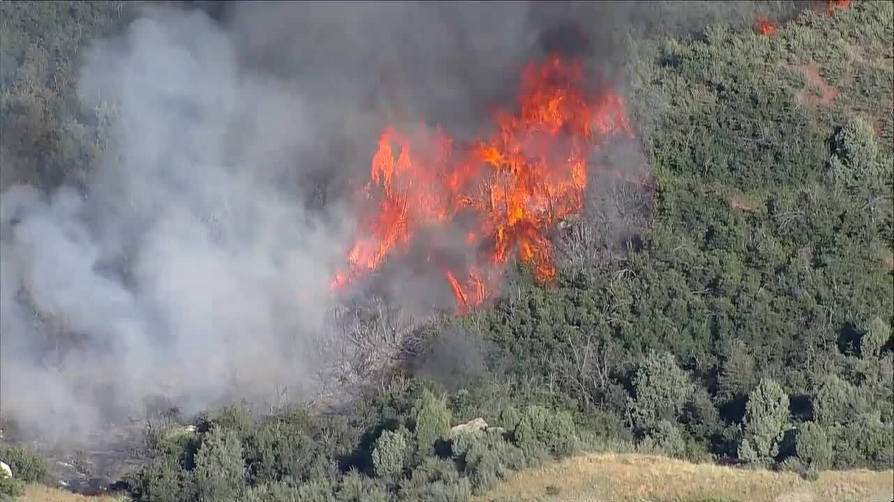 Crews battling wildfire in Colorado, 300 houses evacuated