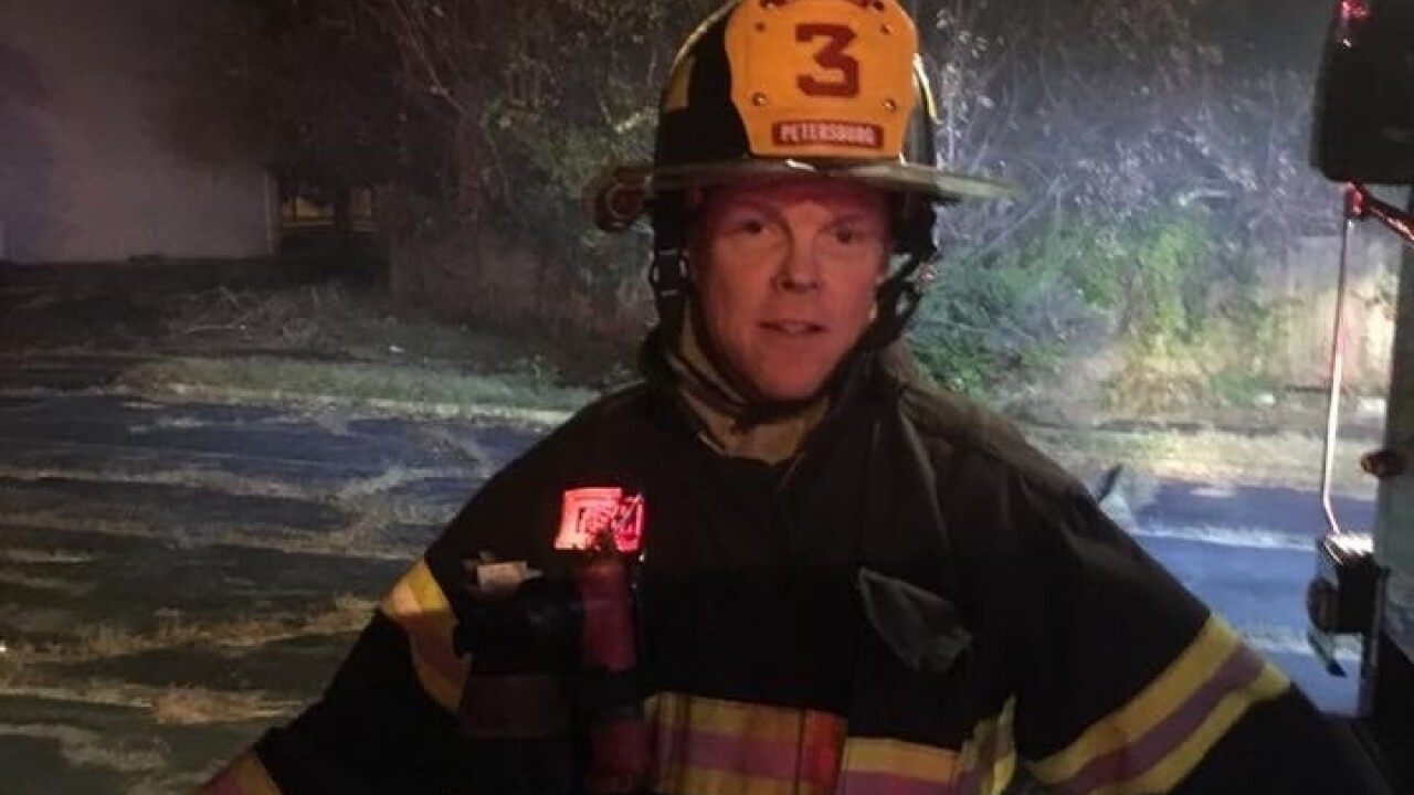 After years of fighting fires, Sgt. Michael Clark is now fighting cancer: 'It's devastating'