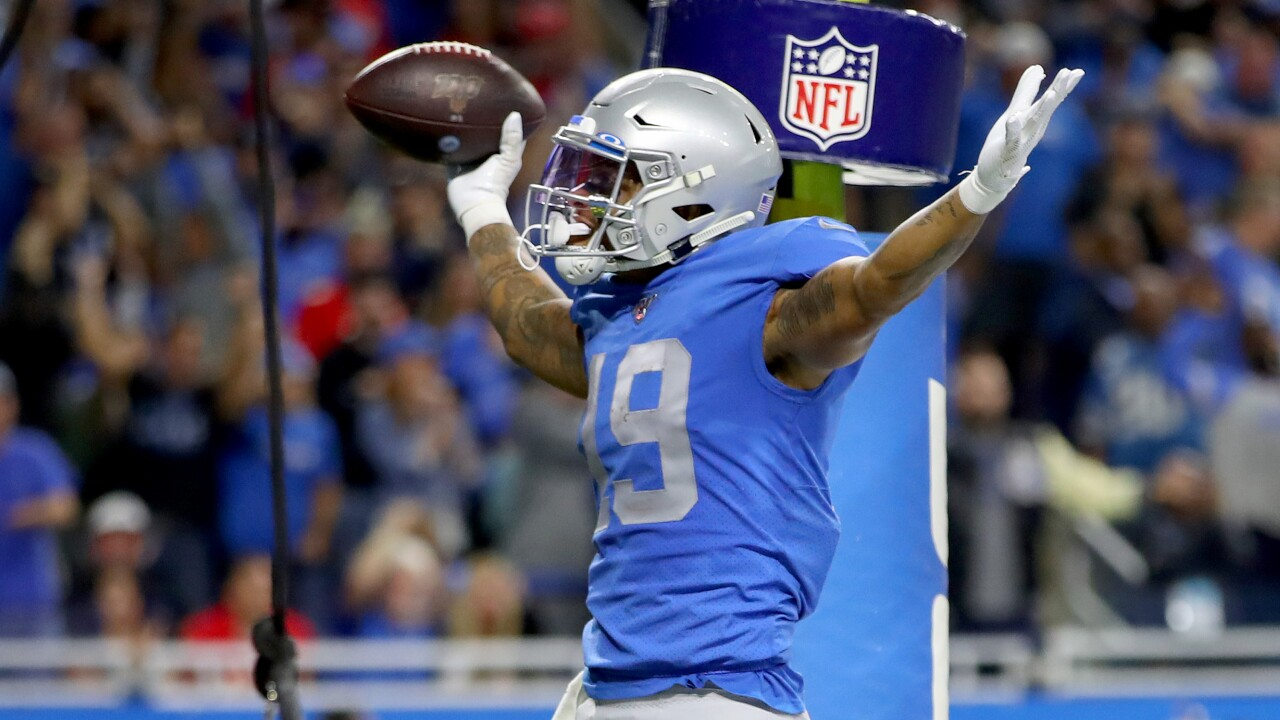 Kenny Golladay wants to stay with Lions, hopeful for new deal soon