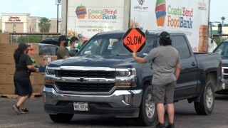 Free food distribution today in Robstown