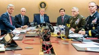 Trump Baghdadi Situation Room