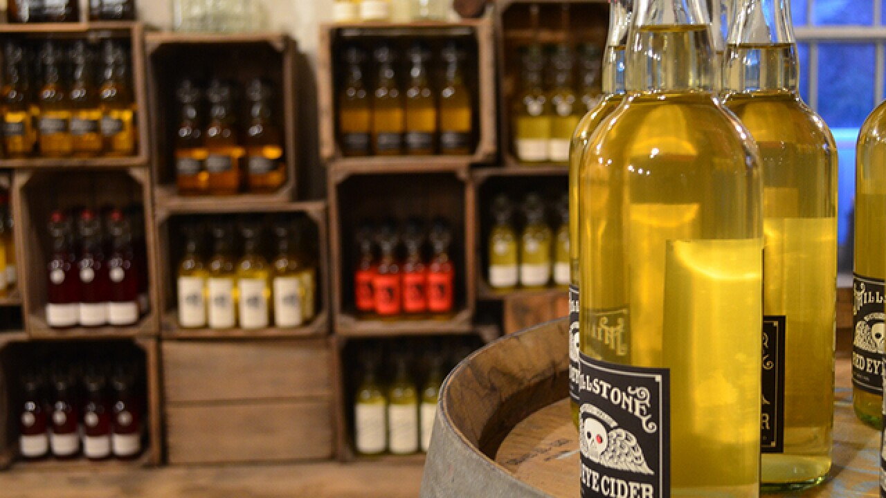 Rustic cider with passion and integrity