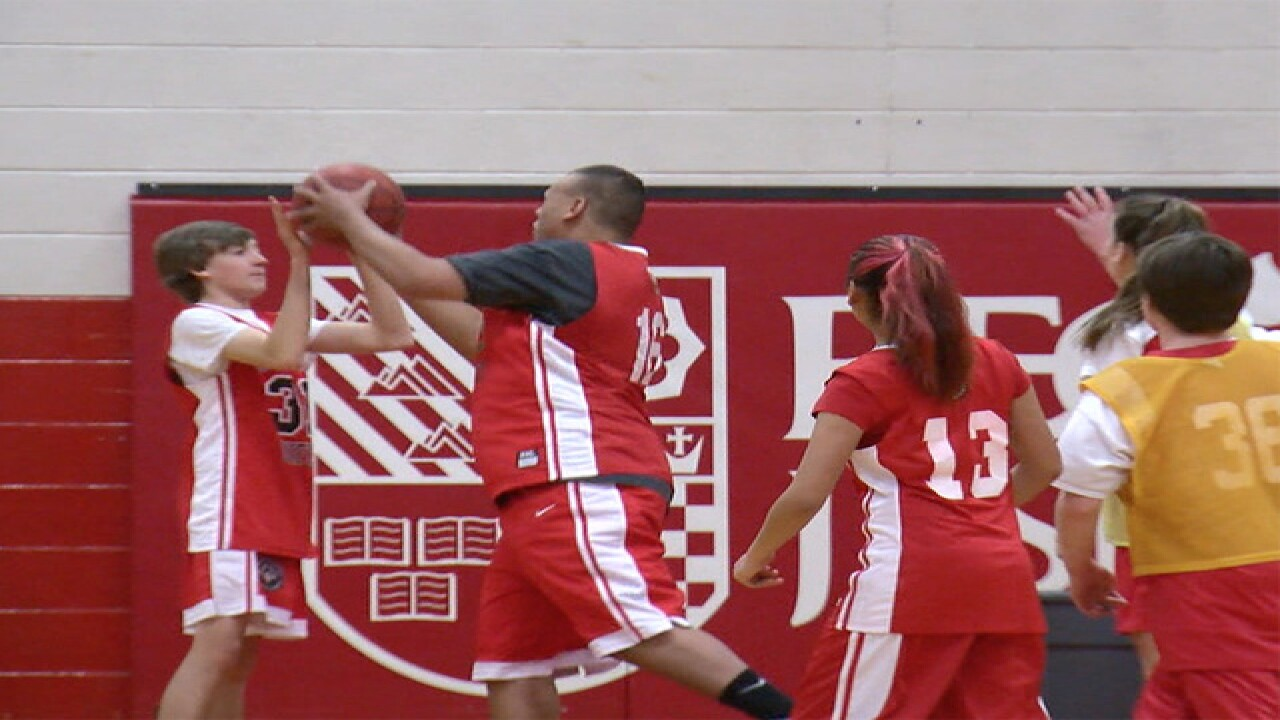 Skill, heart needed for Unified Basketball