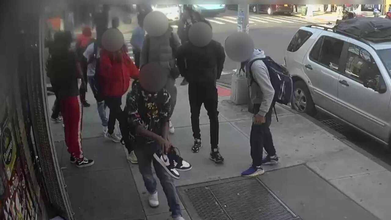 Group of teens viciously attack, rob 15-year-old girl