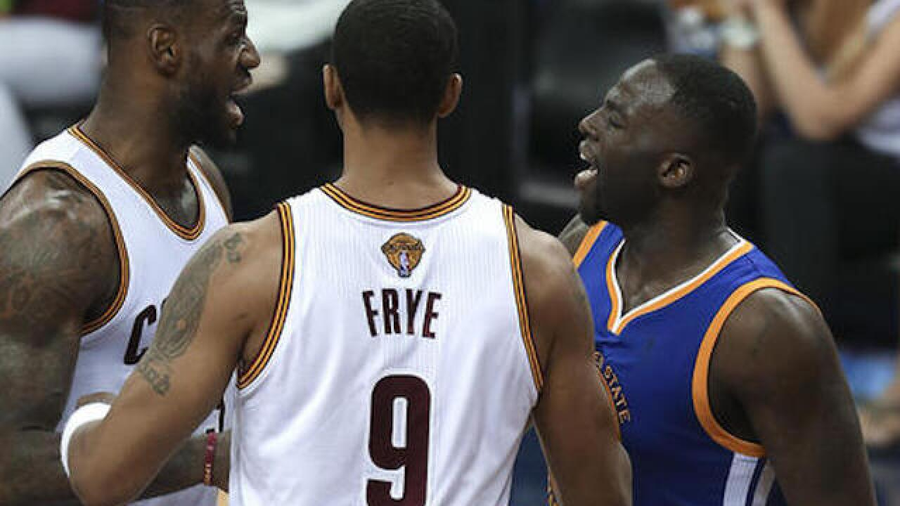 Warriors star Draymond Green suspended for Game 5