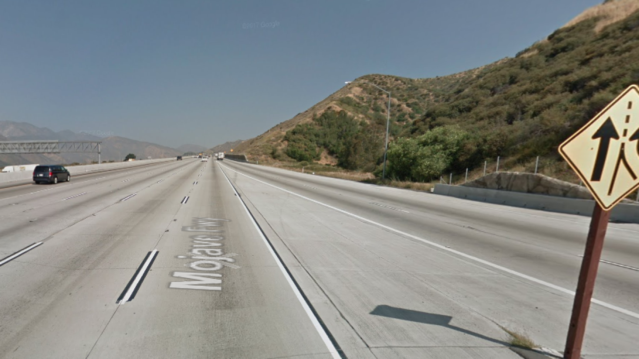 10-year-old boy shot in head on Interstate 15 in San Bernardino County