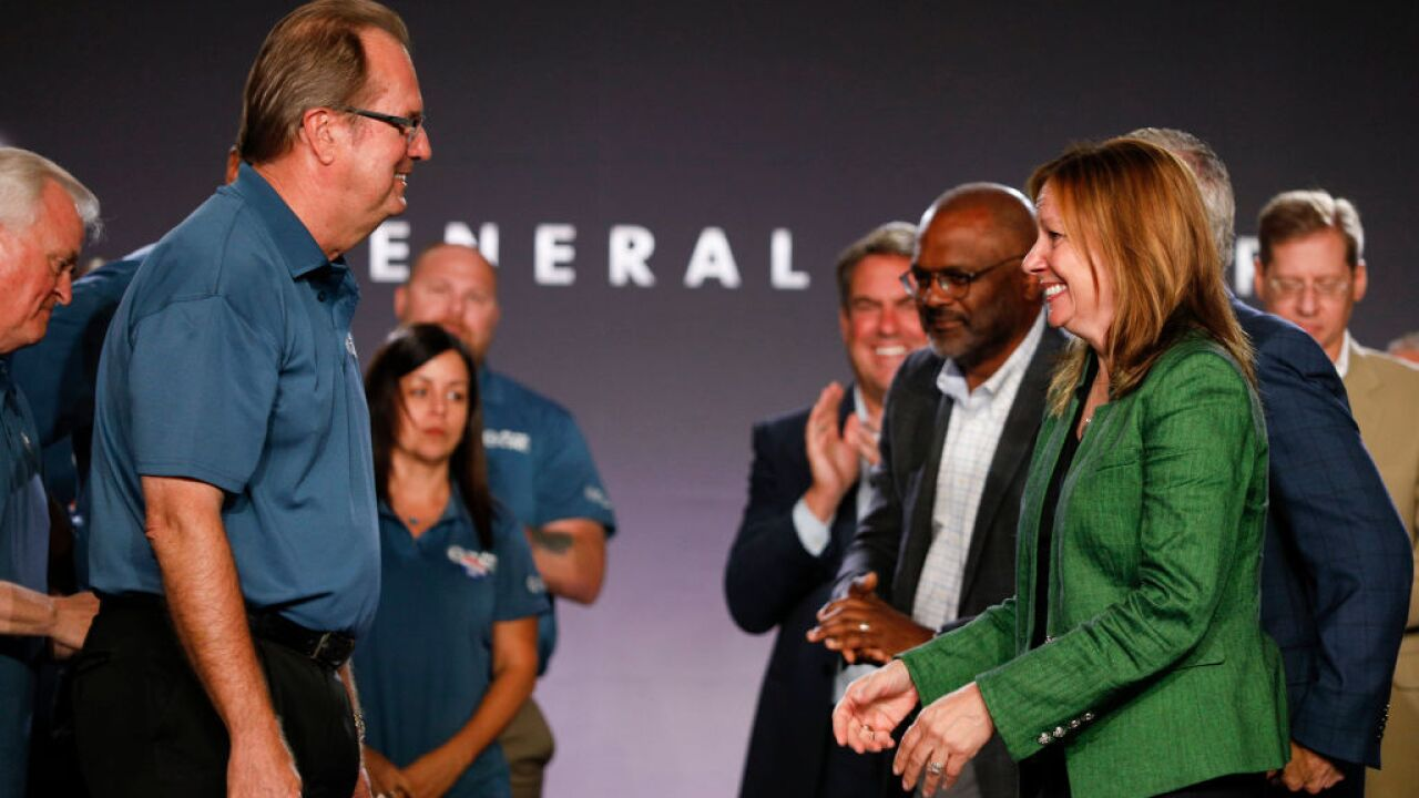 Mary Barra Gary Jones