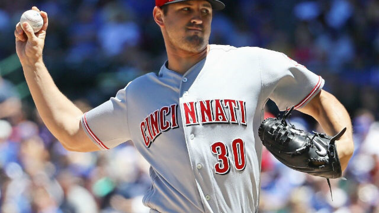 Tyler Mahle leads Reds to fifth straight win over Cubs