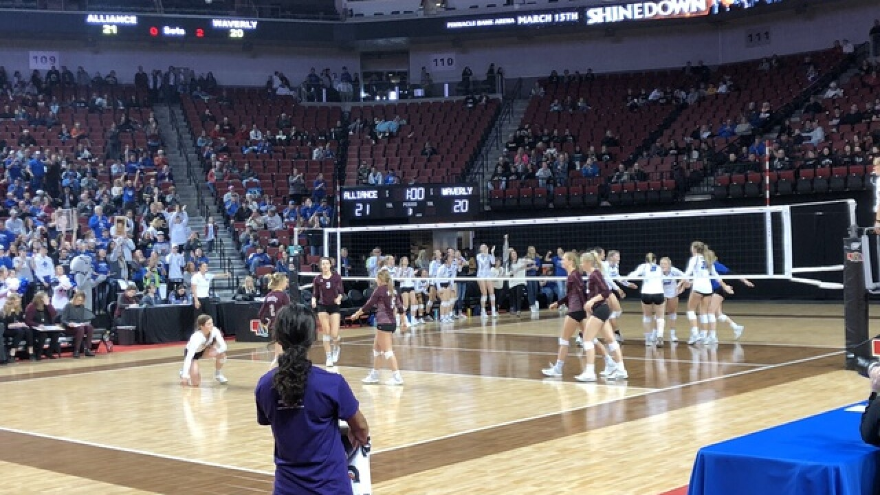 Nebraska high school state volleyball tournament: Live updates