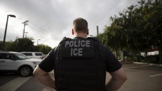 Immigration ICE agent