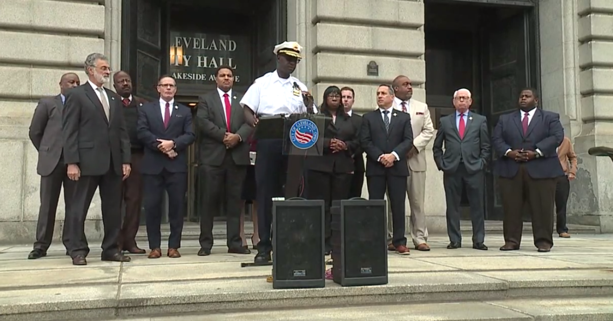 Council members hold news conference to discuss ongoing violence across Cleveland